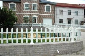 PVC Fencing with Heavy-Duty Aluminum Channel