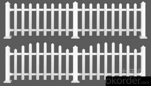 Picket Fence with Limited Lifetime Warranty