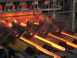 Hot Rolled Square Steel Billet 3SP Standard 105mm