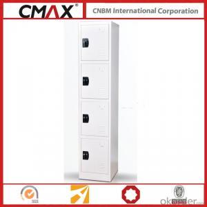 Steel Locker 4 Compartments Cmax-SL04-05