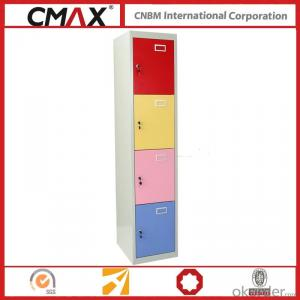 Steel Locker 4 Compartments Cmax-SL04-04