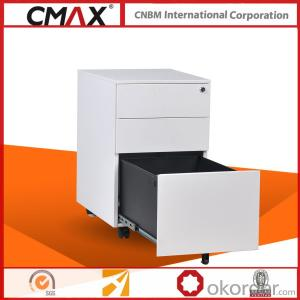 Office Furniture Mobile Pedestal Steel Material