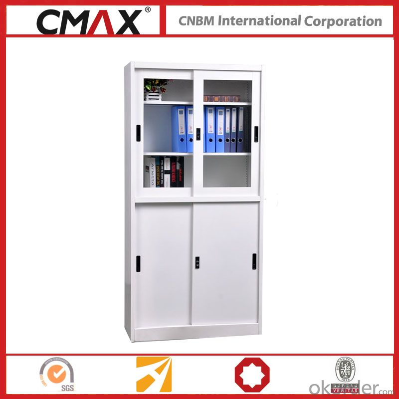 Filing Cabinet Full Height Cupboard with Sliding Door Cmax-Sc005