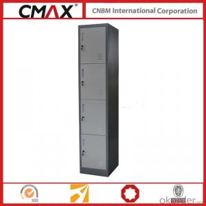 Steel Locker 4 Compartments Cmax-SL04-03