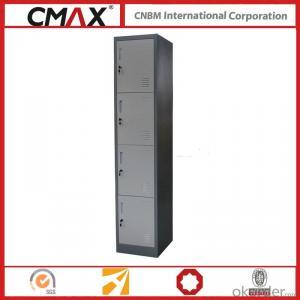 Steel Locker 4 Compartments Cmax-SL04-03