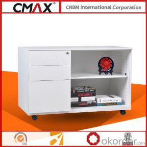 Office Steel Mobile Caddy Cabinet CMAX-OSR-BBF
