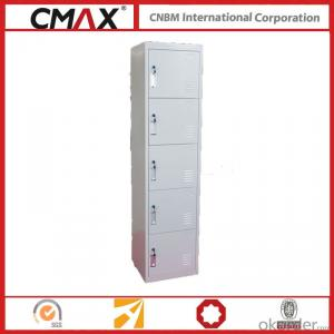 Steel Locker 5 Compartments Cmax-SL05-01