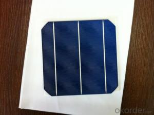 Mono Solar Cells156mm*156mm in Bulk Quantity Low Price Stock 18.0