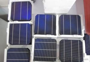 Mono Solar Cells156mm*156mm in Bulk Quantity Low Price Stock 18.6