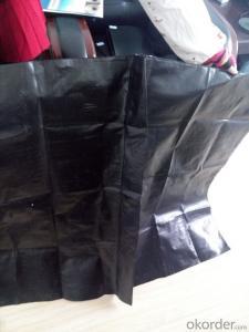 Wooden Silt Fence/ Polypropylene Woven Fabric with 100gram