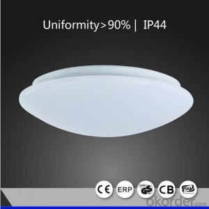 LED Ceiling Light 9W Oyster Round Classic design 250mm