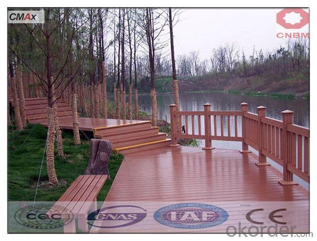 WPC Wooden Floor Tiles With Anti-slip Cheap Price Best Selling