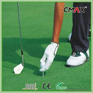 Nylon Golf Grass with 12mm Dark Green with Cheaper Price