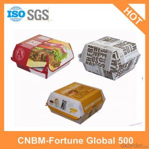 Printed Logo Cartons OEM Design for Food