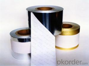 High Peel Water-based Acrylic Fireproof Aluminum Foil Tapes