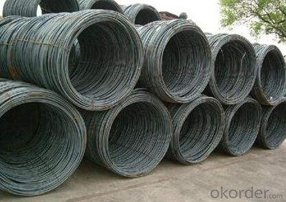 Grade Q235 Hot Rolled Steel Wire Rod in Coils