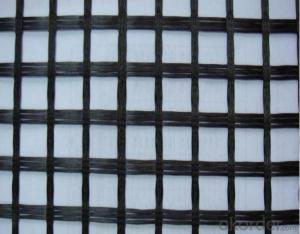 PVC Coated Fiberglass Geogrid with High Strength