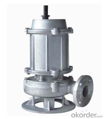 100M3/H Electric Submersible Sewage Pump