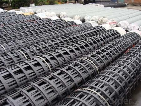 Biaxial Steel Plastic Composite Geogrid