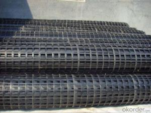 High Strength Polyester Geogrid with PVC Coated