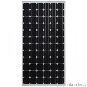200W Mono Solar Panel Manufatured in China
