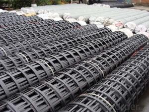 PVC Coated Polyester/PP/Fiberglass Geogrid with High Strength