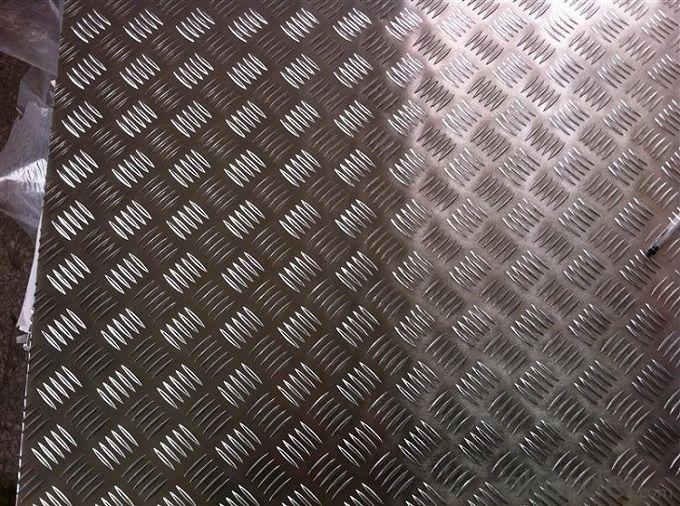 Buy Five Bar Anti Slip Bus Aluminum Tread Plate