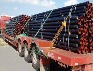 Ductile Iron Pipe of China DN80-DN800 K8 EN545 Top Sale