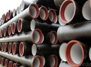 New Ductile Iron Pipes of China DN200 EN598