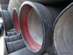 Ductile Iron Pipe of China DN400-DN900 EN545 Factory Quality