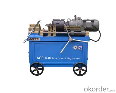 ScrewThread Rolling Machine for Rebar Model AGS-40X