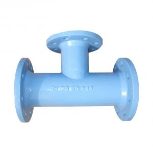 Ductile Iron Pipe Fittings All Socket Tee EN545 DN1200 On Sale