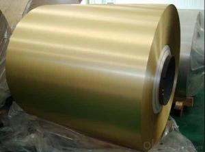 RAL 8001 PE 18 Micros Coated Aluminium Coil