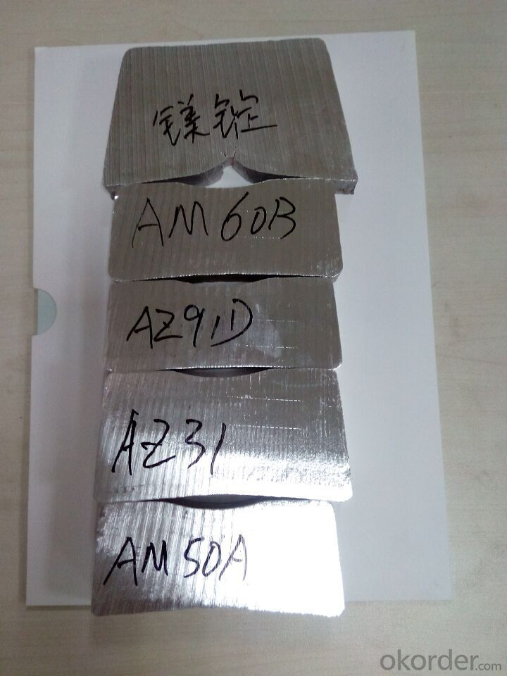 Magnesium Alloy Ingot Sample for Russia Market