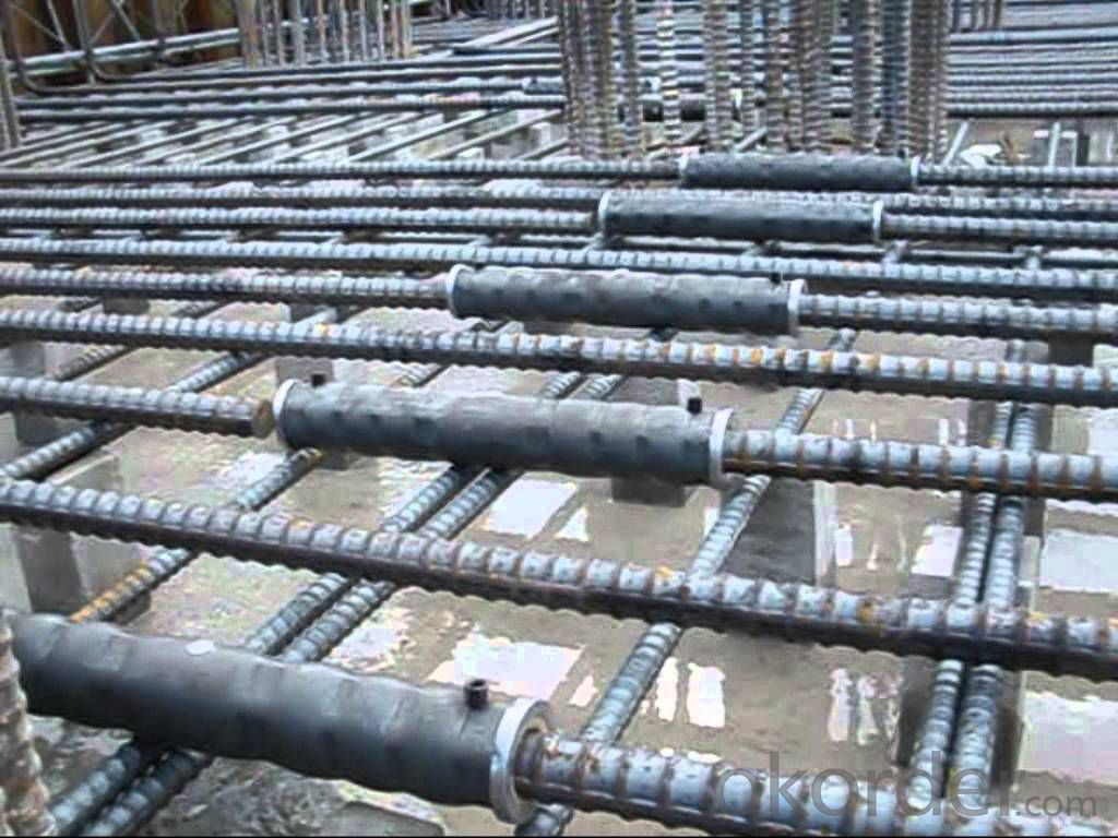 Steel Coupler Rebar Steel Tube Made in Shanghai China