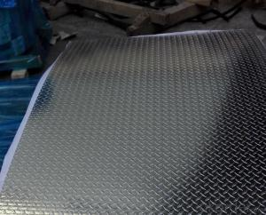 0.7 mm Thick Embossed Aluminum Zinc Roofing Sheet