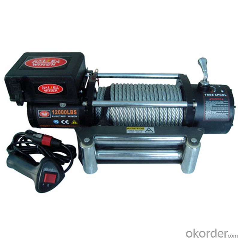 13000LB Electric Winch,DC12V Automobile Winch