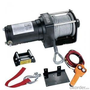 8000LB Electric Winch Wire Rope Pulling ,4X4/4WD Winch