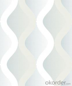 PVC Wallpaper Wavy Black & Cold Spray Glass Mirror Wall Tiles Mosaic Mural Wallpaper