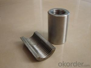 Steel Coupler Rebar Steel Tube Made in Shanghai China in  High Quality