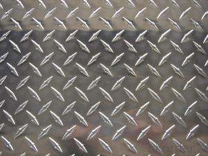 Embossed Aluminum Sheet Plate With Low Noise - 5 Bar