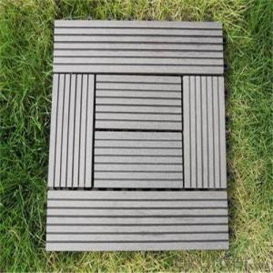 Floor Tile/DIY WPC Tile 300*300MM High Quality China 2016