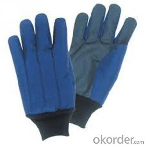 Low Temperature Resistant Leather Cryogenic Gloves Made in China