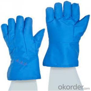 Low Temperature Resistant Leather Cryogenic Gloves Low temperature