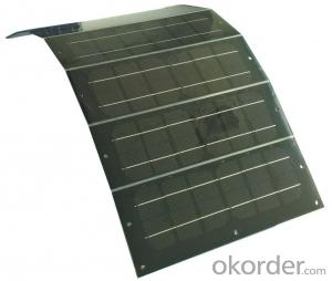 9*35W  Flexible Portable Solar Panel by Chinese Manufacturer