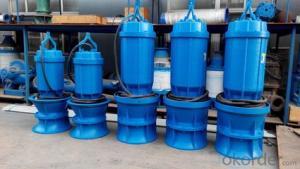 QZQH SubmersibleAxialFlowWaterPump(Mixedflowwaterpump)