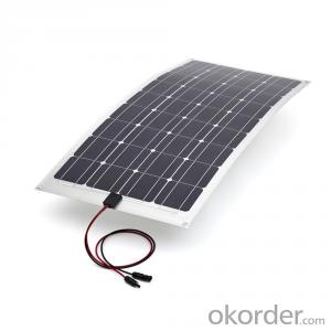 Bendable Solar Panel with Sunpower Solar Cell