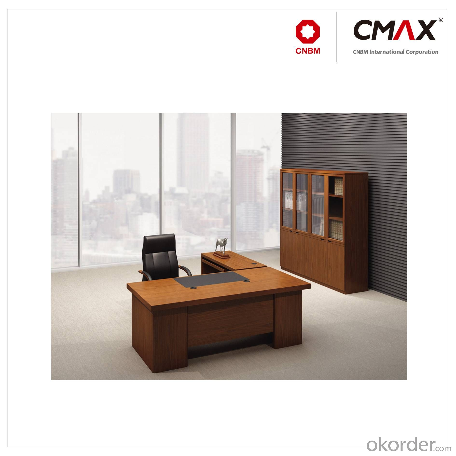 Buy Executive Office Table with Veneer Finish CMAX-YDK45 Price