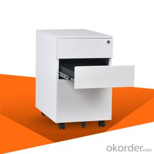 Steel Filing drawer Cabinet Mobile Pedestal 3 Drawer Cabinet Cmax-MP03-001