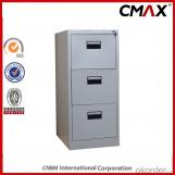 Office Filing Cabinet Drawer Vertical Filing  Cabinet 3 Drawer